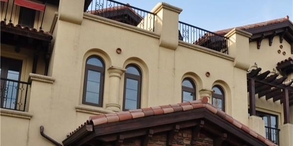 静水园别墅项目外墙装饰装修保温施工技术交底