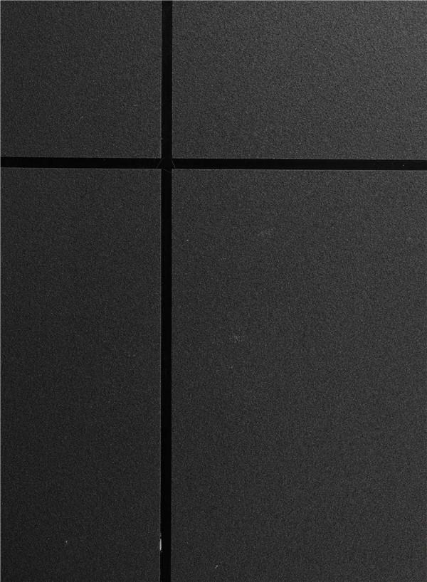 中黑色真石漆 样板效果图