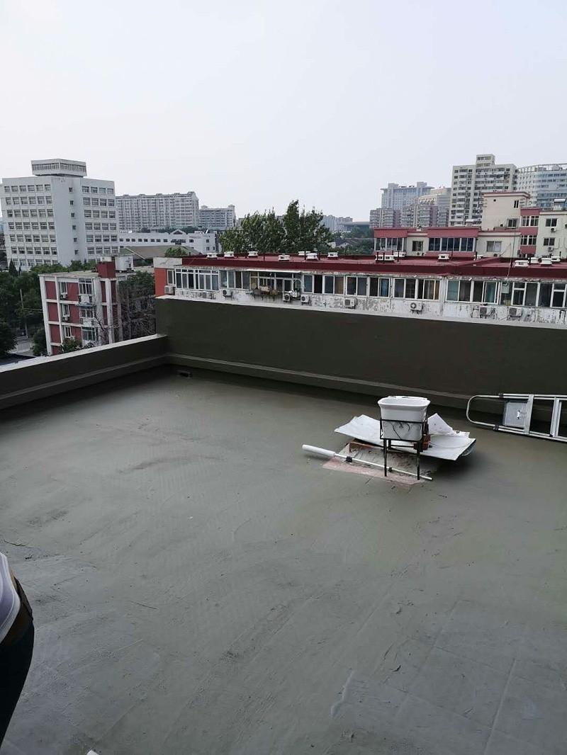 阳台渗漏水维修施工效果图