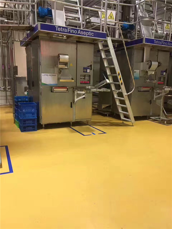聚氨酯砂浆自流平地坪 施工方案