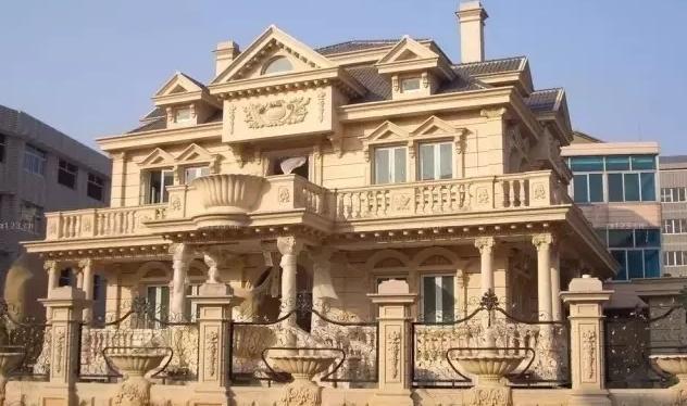 别墅外墙翻新——选择施工干挂石材有哪些优点