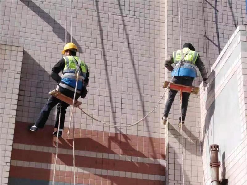 中国航油大厦外墙瓷砖维修