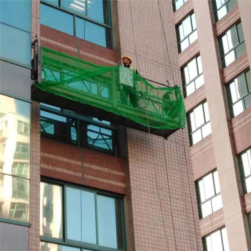 中航油项目吊篮检查外墙空鼓