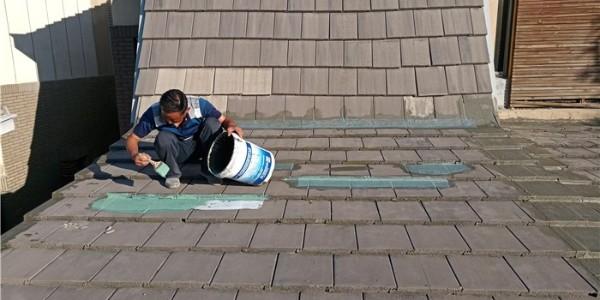 龙湾别墅屋面防水维修