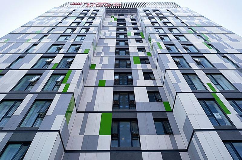 北京新派白领公寓清水板施工(改造)