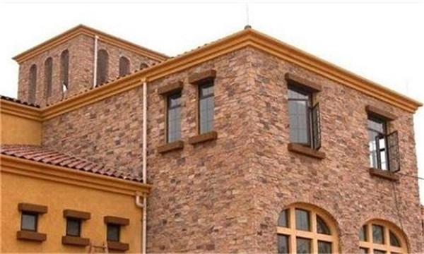 别墅外墙翻新之釉面砖