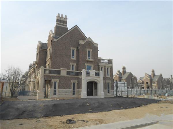别墅外墙翻新之通体砖