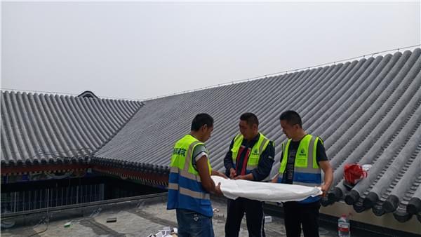 屋面防水检测分析