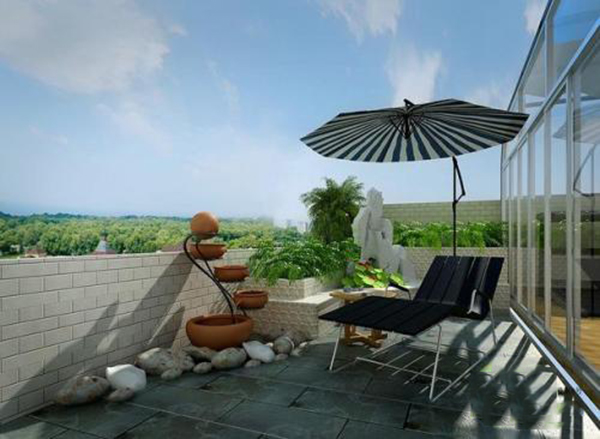 别墅局部改造——如何加建屋顶花园或露台花园