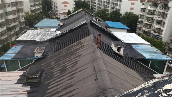 高层住宅小区屋面的维修实例