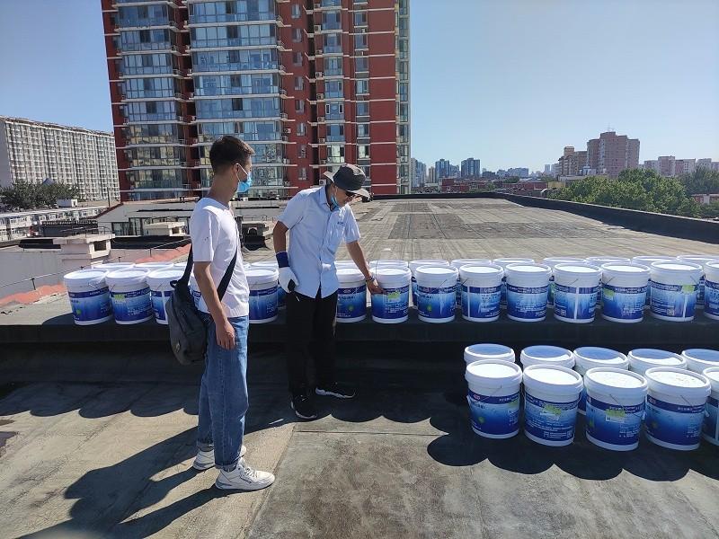 防水材料现场验收