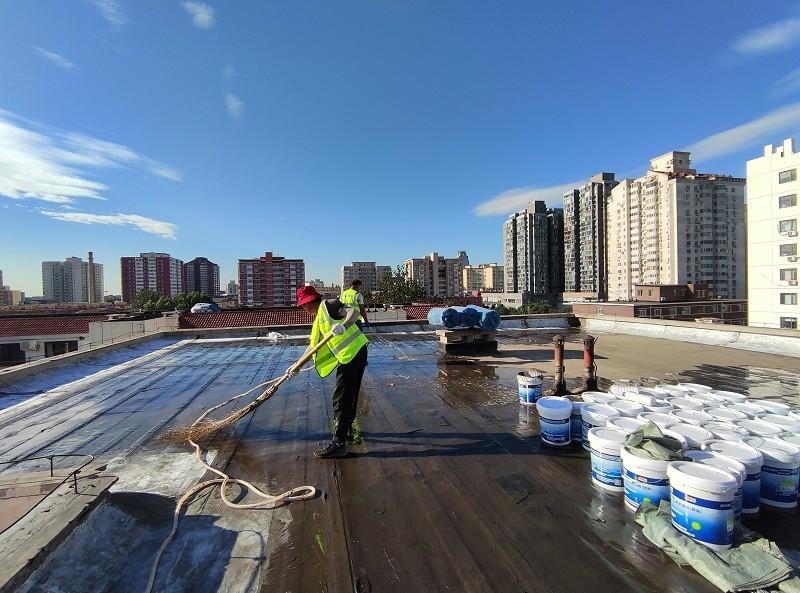 防水施工基层清理