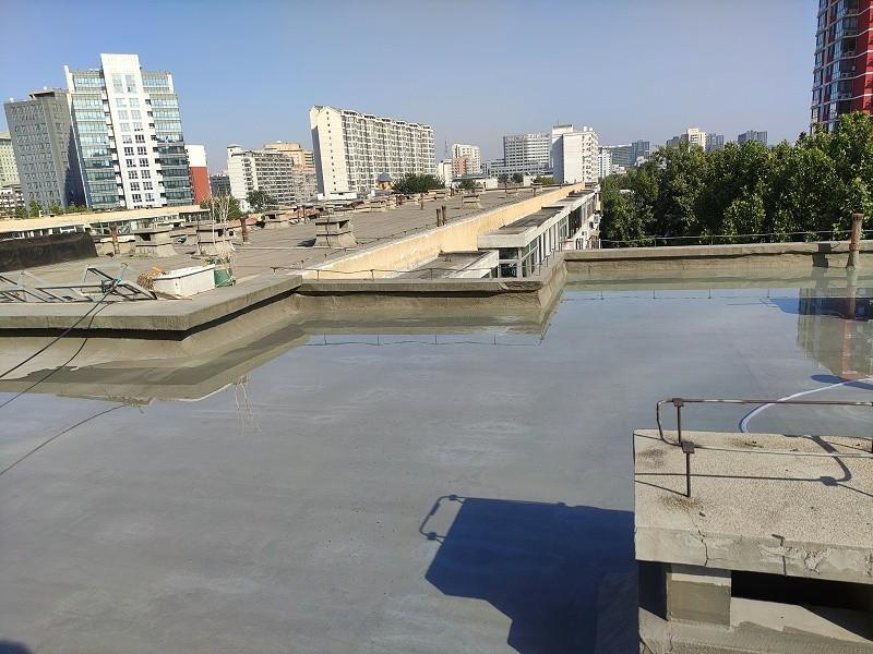 屋面防水2号楼闭水试验