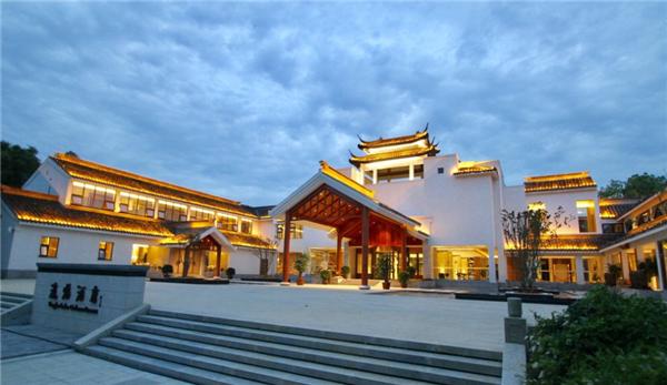 安康瀛湖翠屏岛酒店入口