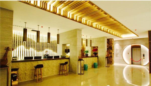 安康瀛湖翠屏岛酒店总服务台