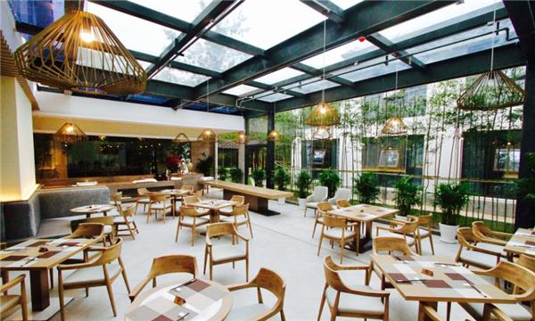 翻新改造翠屏山庄酒店自助餐厅效果图