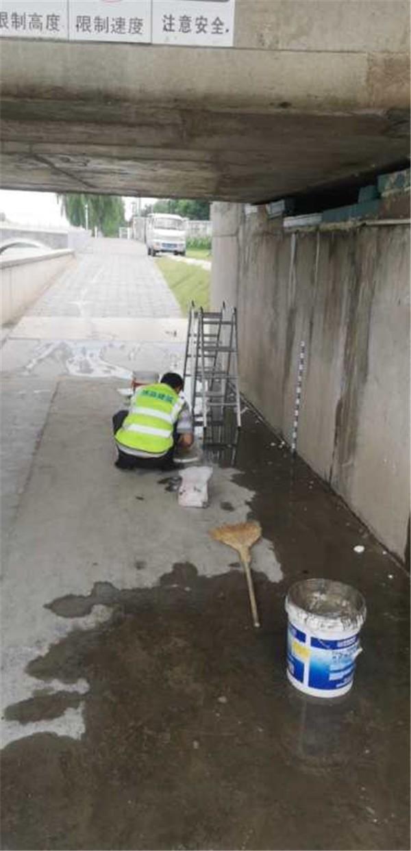 桥洞漏水维修施工