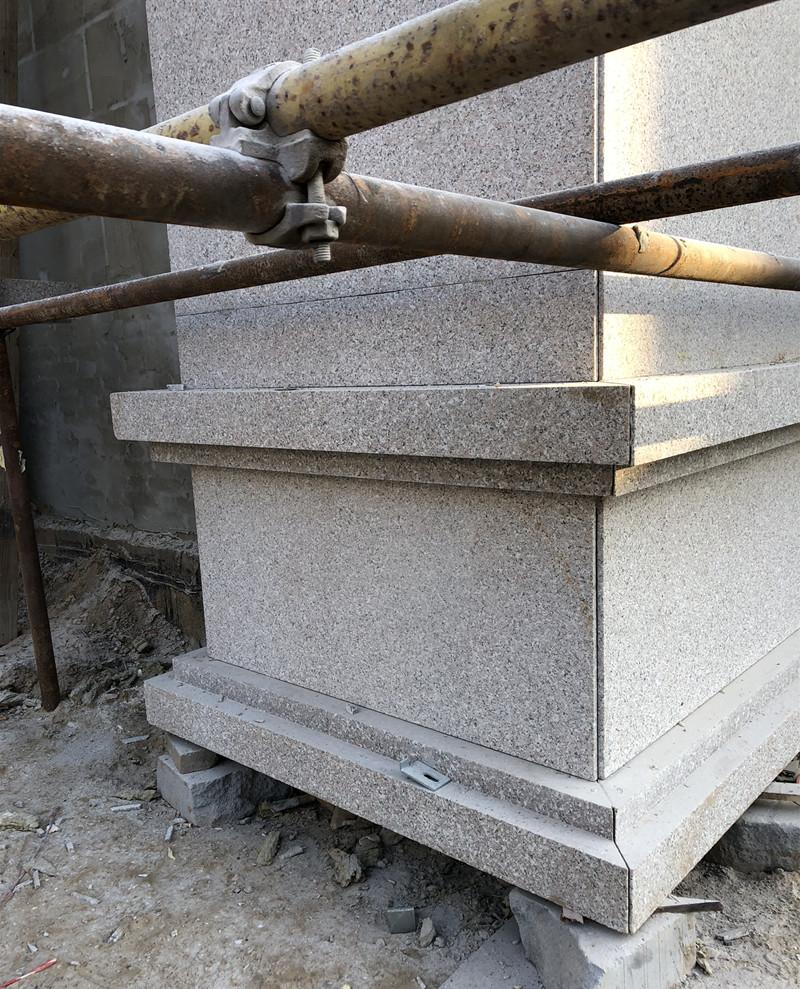 干挂石材外墙装修施工图