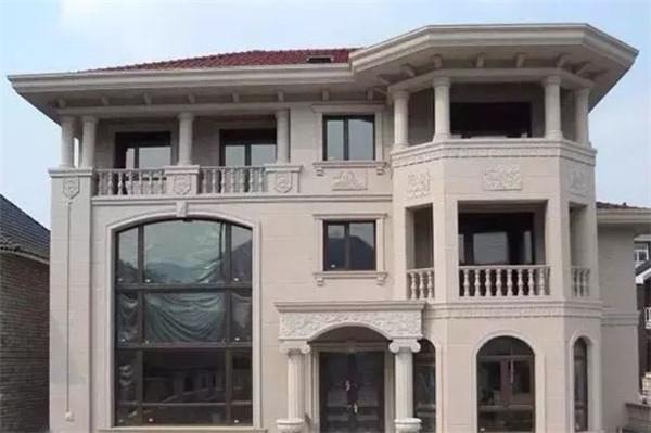 别墅外墙翻新——提升别墅档次之门窗套