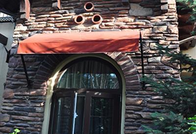 别墅改造之增加遮阳蓬