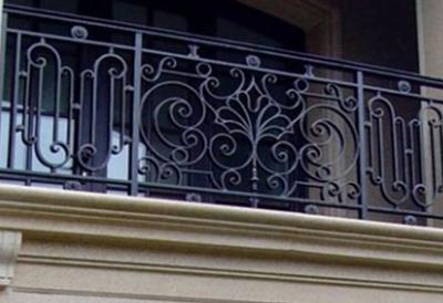 别墅改造之艺术栏杆