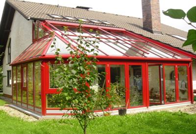别墅改造之增加阳光房