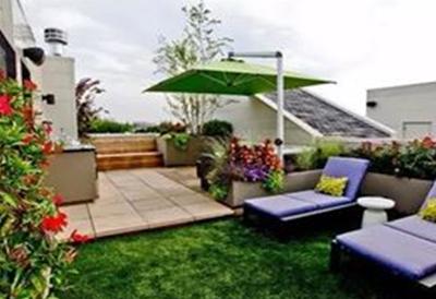 别墅改造之屋面花园