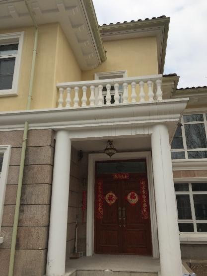 别墅翻新改造更换雨落管