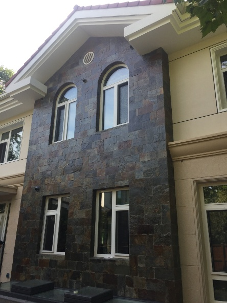 别墅翻新改造全石材造型