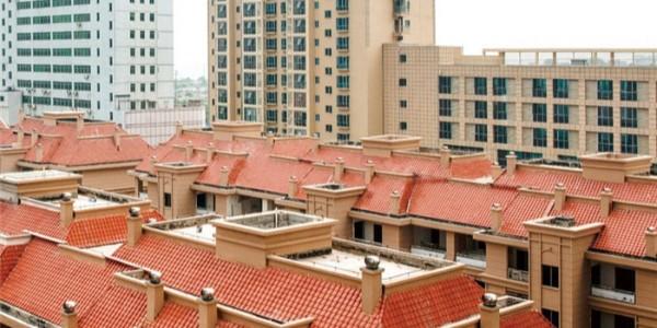 别墅屋顶屋面防水施工