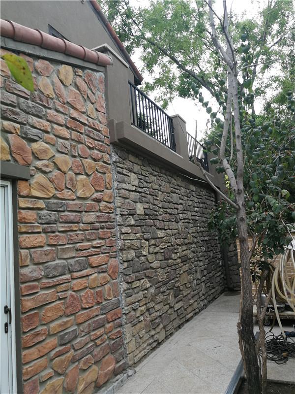 纳帕溪谷外墙保温维修中