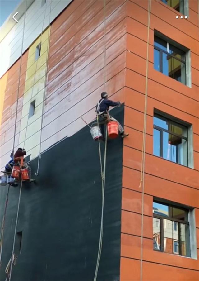 外墙裂缝维修