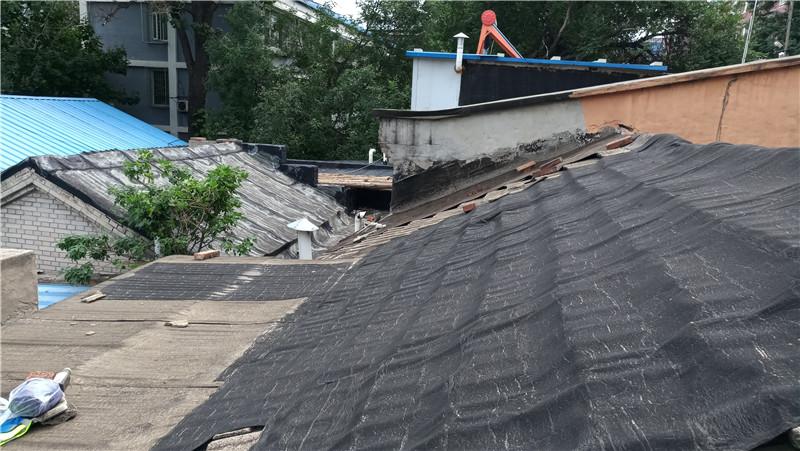 sbs卷材屋面漏水防水维修