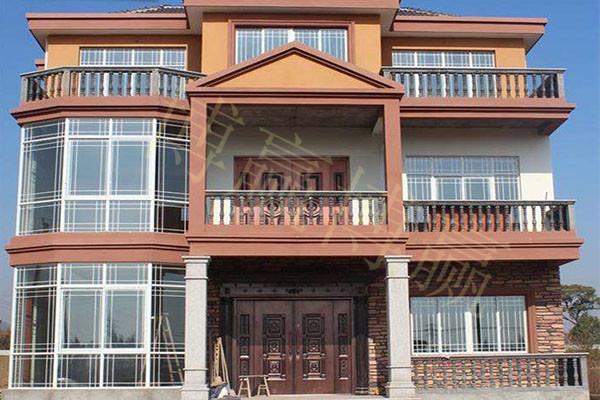 博赢建筑——别墅外墙装修材料之外挂板