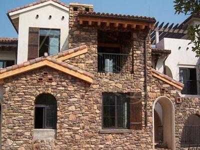 博赢建筑——别墅外墙装修材料之文化石类
