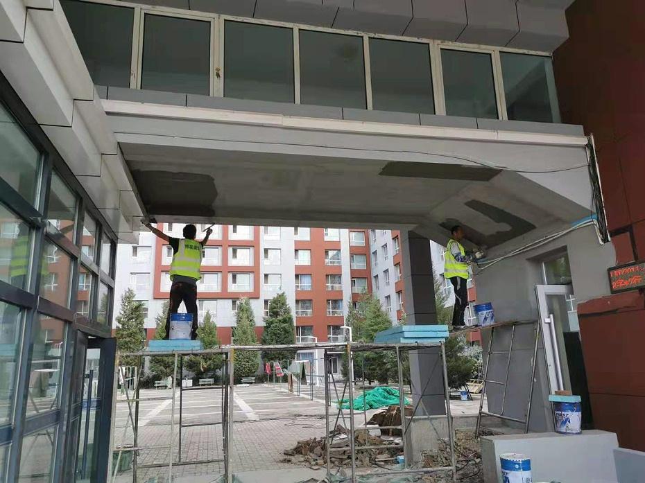 施工中的内蒙古大学