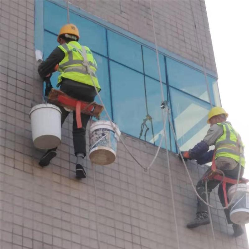 窗边防水恢复施工