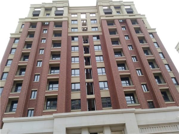 高层住宅外墙瓷砖施工案例