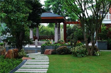博赢建筑别墅改造庭院景观设计施工