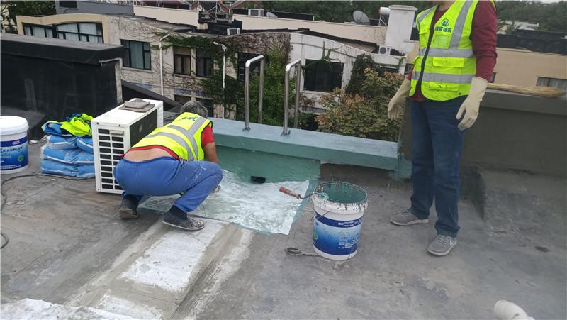 屋面防水维修施工