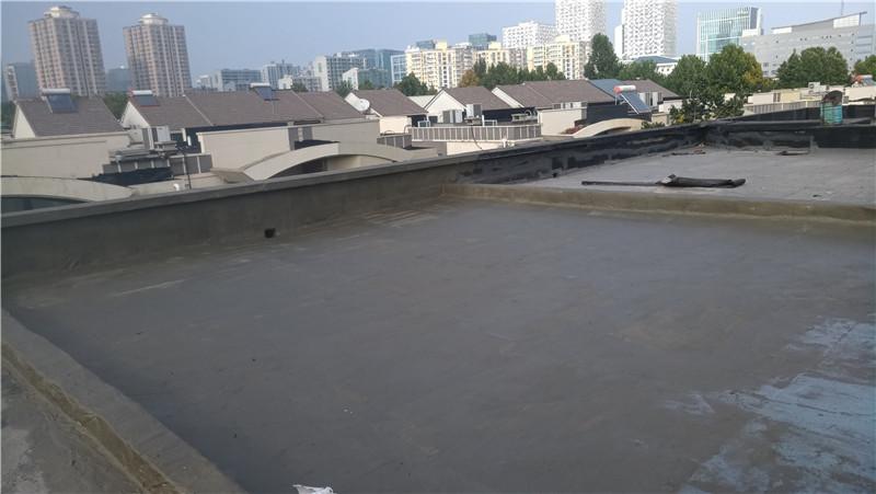 整体屋面防水施工后