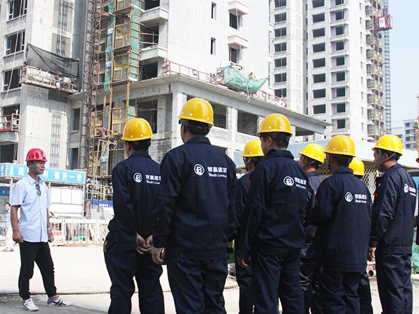 工人照-华夏幸福任丘孔雀城