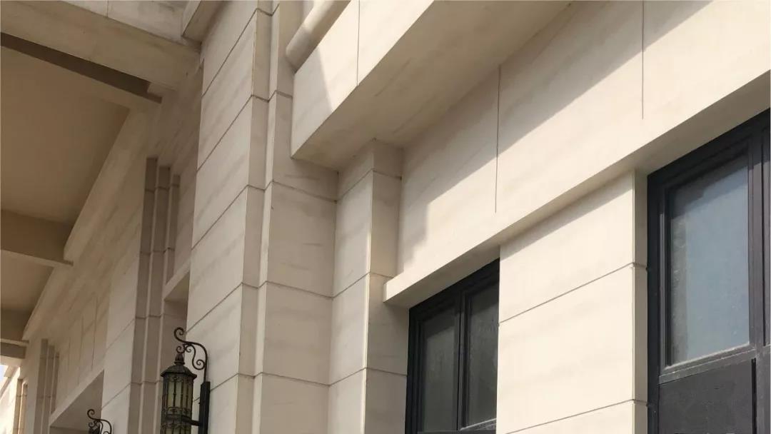 外墙石灰石涂料效果图