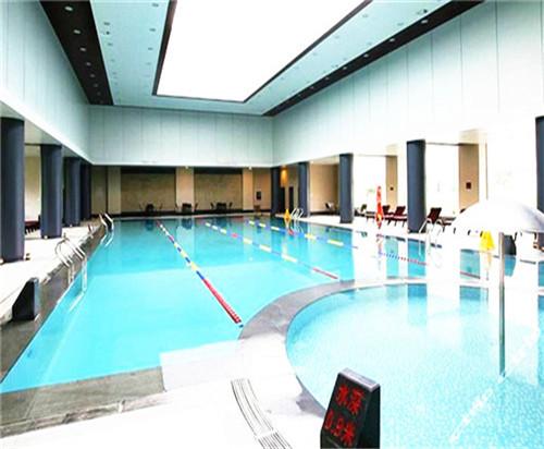 九华山庄游泳池防水施工