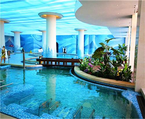天津奥蓝际德温泉度假酒店游泳池防水工程