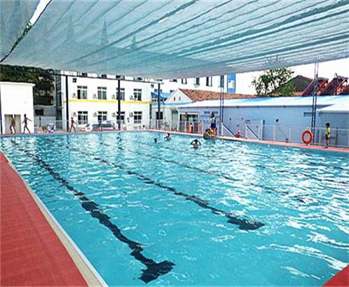室外开挖游泳池防水施工工程