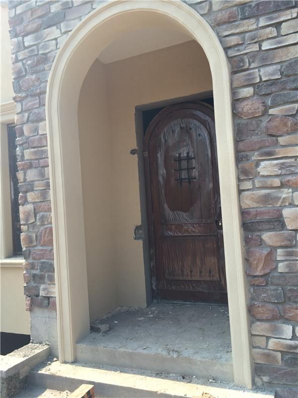 别墅外墙文化石翻新