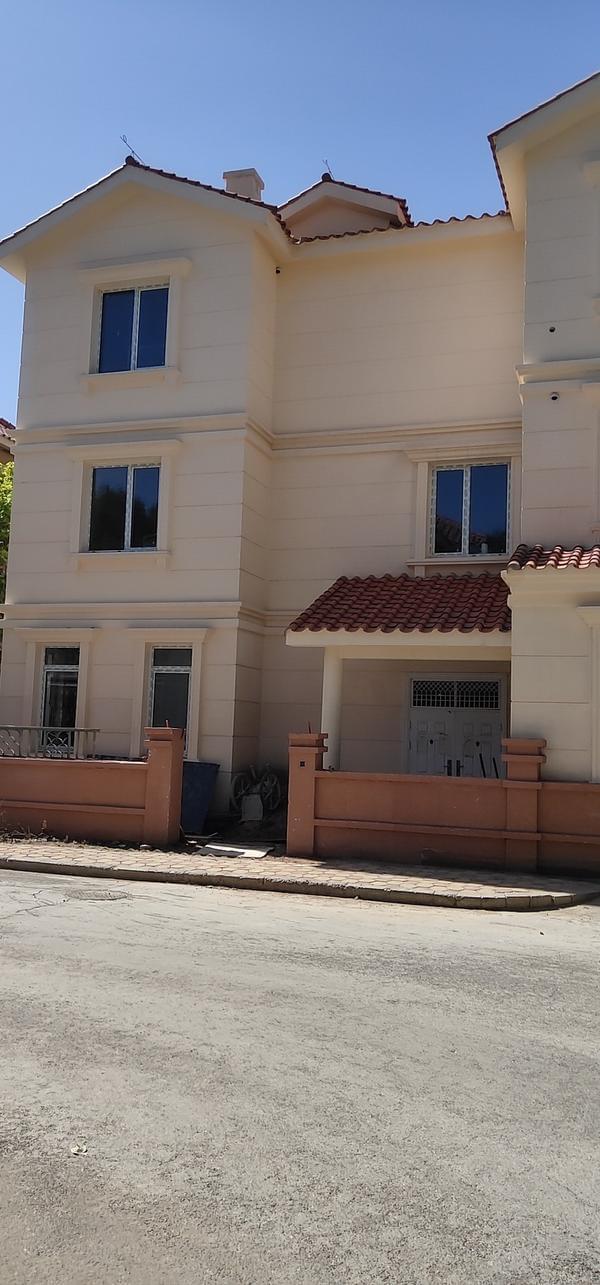 别墅翻新改造外墙乳胶漆案例