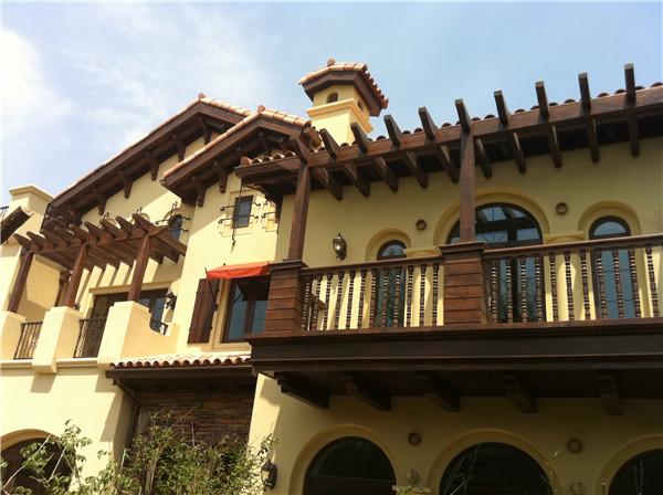 别墅外装翻新改造