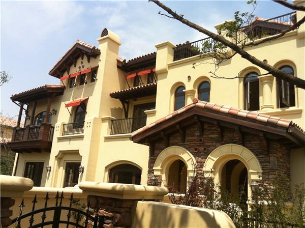 别墅整体外墙翻新改造